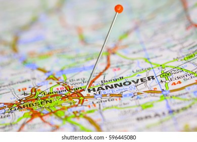 Landkarte Hannover Stock Photos Images Photography Shutterstock