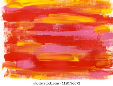 red pink yellow acrylic background