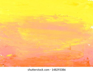 red, pink and yellow watercolor background