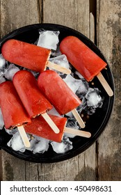 red popcicle