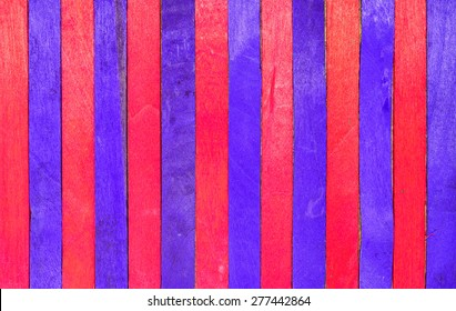 red and purple wood vertical separated abstract background