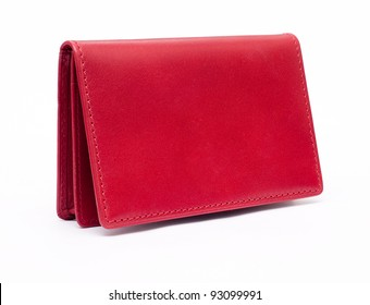 Red purse. Look through my portfolio to find more images of the same series