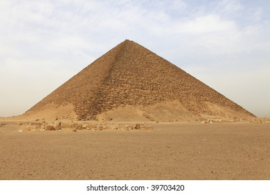 The red pyramid - Dashur, Egypt.