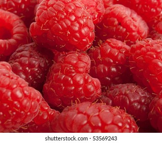 red raspberry to serve as background