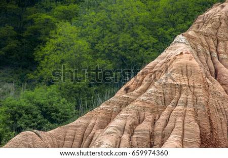 red ravine rapa rosie sebes alba stock photo edit now 659974360