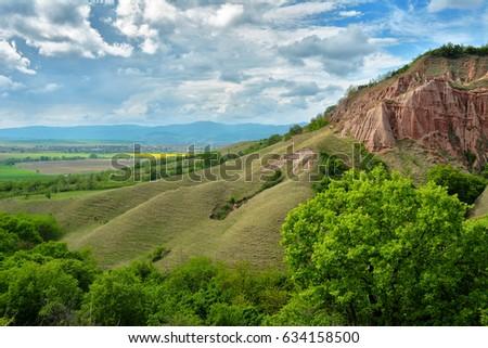 red ravine sebes romania stock photo edit now 634158500 shutterstock