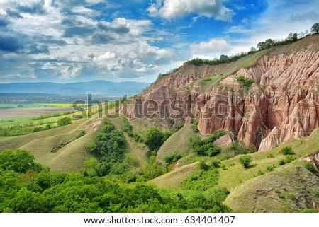 red ravine sebes romania stock photo edit now 634401407 shutterstock