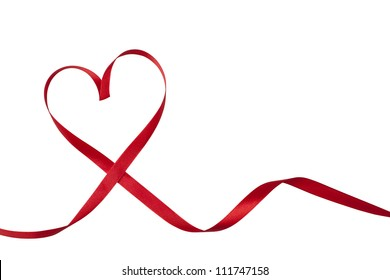 Heart Shape Ribbon Images, Stock Photos & Vectors | Shutterstock