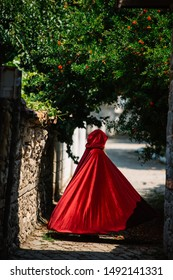 Red Riding Hood at field