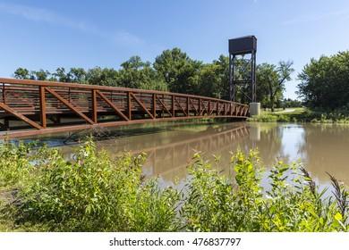 Red River Footbridge