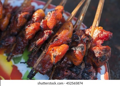 Red Roast Chickhen - Asian Street Food