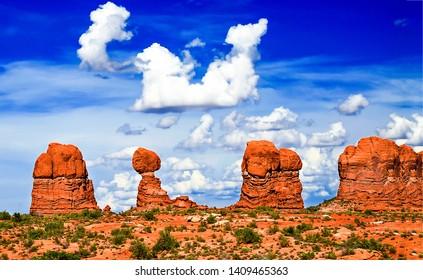 Red rock canyon desert landscape. Sandstones in red rock canyon desert. Red rock canyon desert sandstones. Red rock canyon sandstones landscape