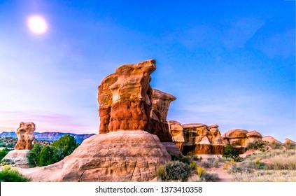 Red rock canyon desert sandstones view. Sandstone in red rock canyon desert. Red rock canyon desert sandstones. Red rock canyon sandstone mountains