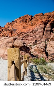 Red rock canyon landscape in Nevada, USA