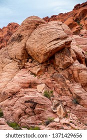The Red Rock Canyon National Conservation Area near Las Vegas