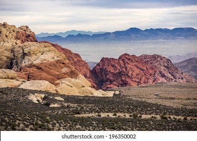 Red Rock Canyon near Las Vegas, Nevada.