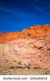 Red Rock Canyon. Nevada. USA.