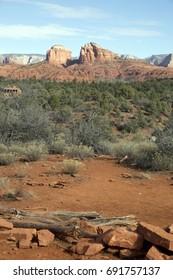 Red Rock Formation near Sedona, Arizona, USA
