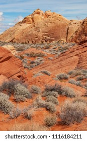 Red rock formations at Valley of Fire State Park, Nevada