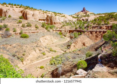 Red Rock Park near Gallup in New Mexico, USA