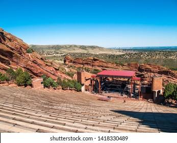 Red Rocks Amphitheater, Denver, Colorado, USA