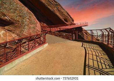 Red Rocks Amphitheater,  Denver Colorado