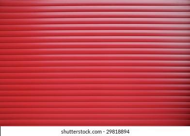 red roller shutter texture