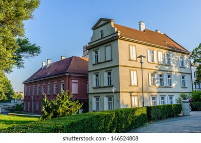 Red roof house in Gyor