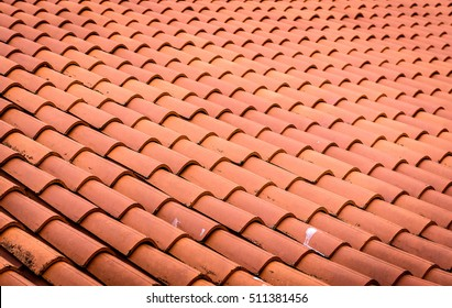Old Terracotta Roof Tiles Images, Stock Photos & Vectors