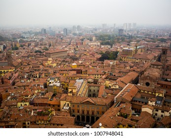 Red roofs of Bologna