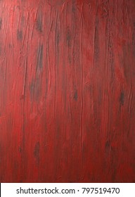 Red rustic wooden background.