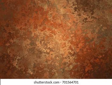 Red rusty background, grunge texture