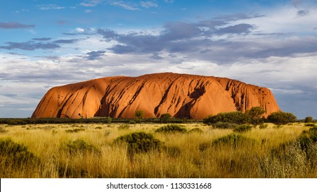 A red sandstone rock in Australia