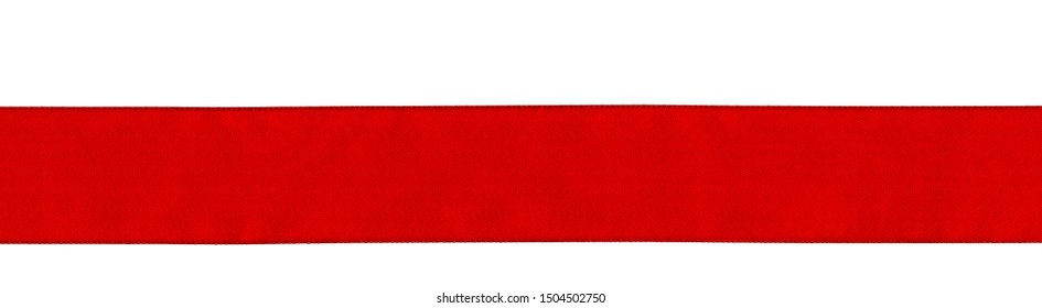 Red scarlet ribbon as background pattern