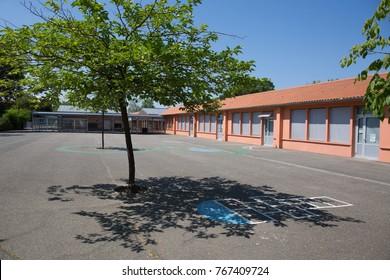 Red School Building
