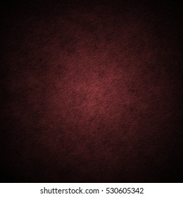Red scratched grunge stucco wall background or texture