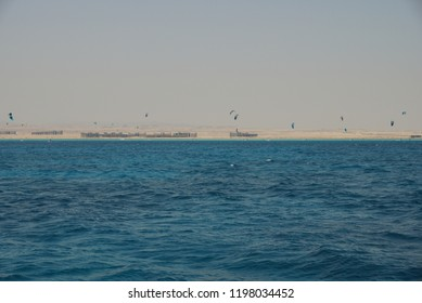 Red Sea diving during a boat trip to the coral riffs to diving and snorkeling