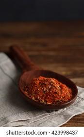 Red seasonings. Stock image
