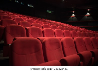 red seats in cinema
