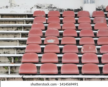 Red Seats at the Grandstand.