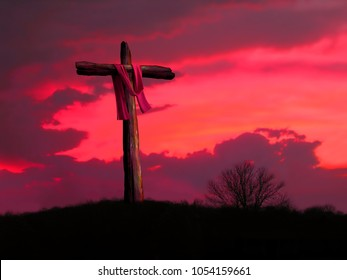 Red Sky at Crucifixion