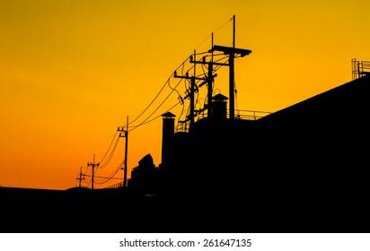 Red sky orange sunset sundown. Amazing amazing