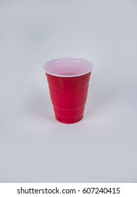 Red Solo Cup on white background