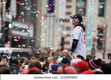 Red Sox 2018 World Series Champions Parade in Boston on Oct. 31