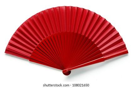 red spanish fan