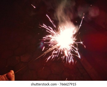 The Red Sparklers for Christmas and New Year celebrations.