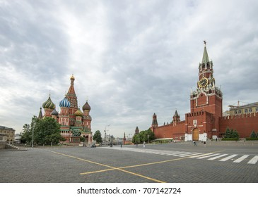 Red square, Moscow, Russia, June 2, 2014