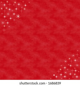 Red with stars
