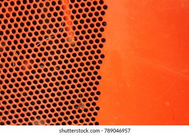 Red steel graing