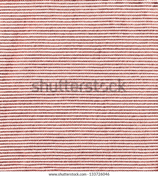 Red stripped jeans texture background